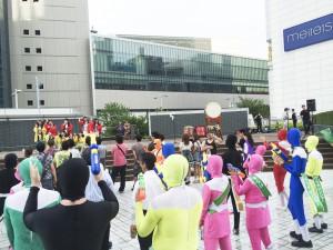 名古屋駅地区打ち水大作戦