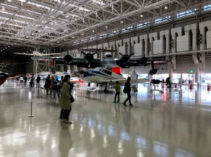 各務原航空宇宙博物館・館内