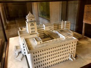 市役所模型